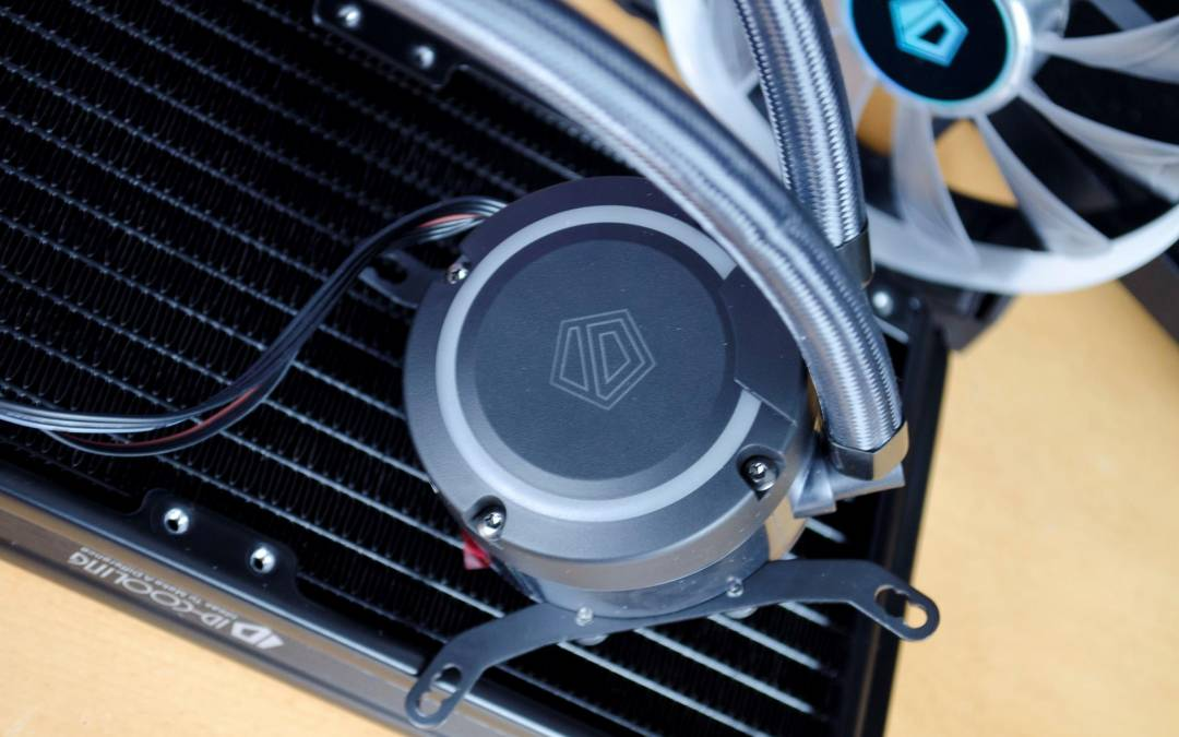 ID-Cooling Auraflow 240 AIO CPU Cooler Review - EnosTech com