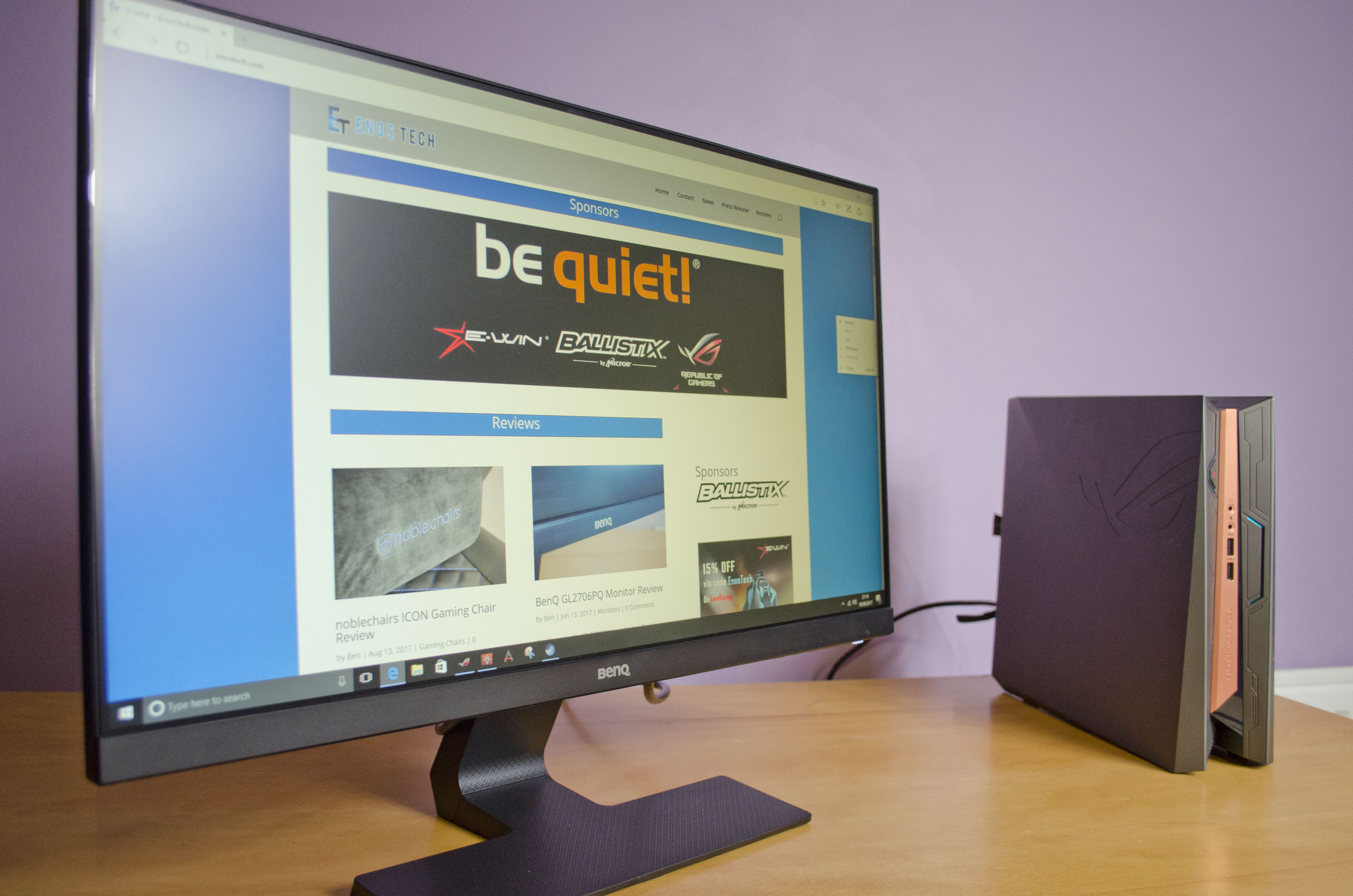 BenQ GL2580HM Monitor Review