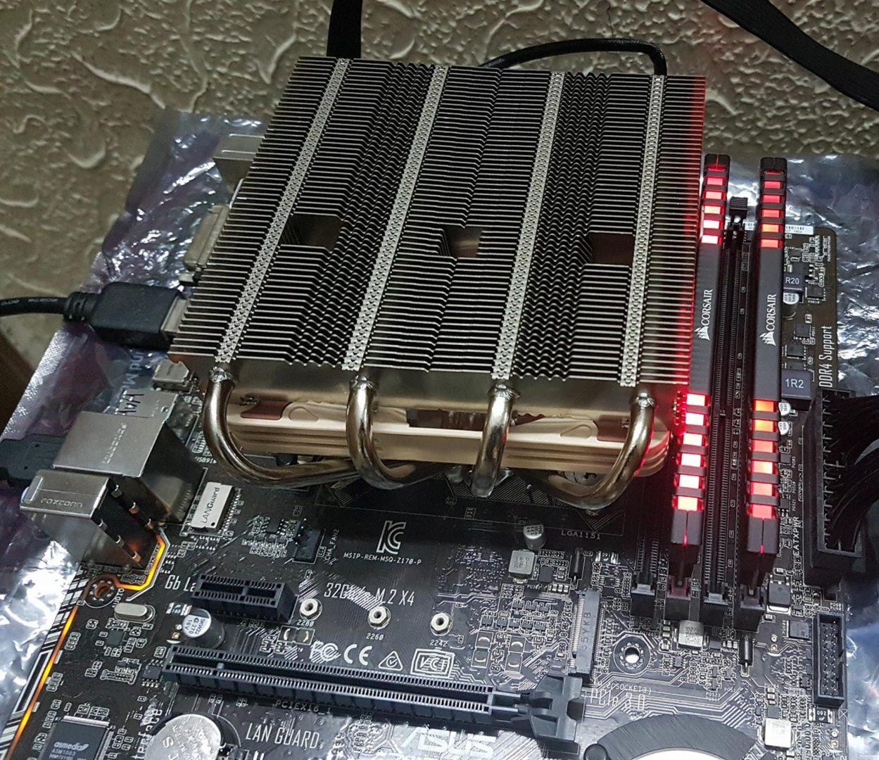 Noctua NH-L12S Lower Profile CPU Cooler Review