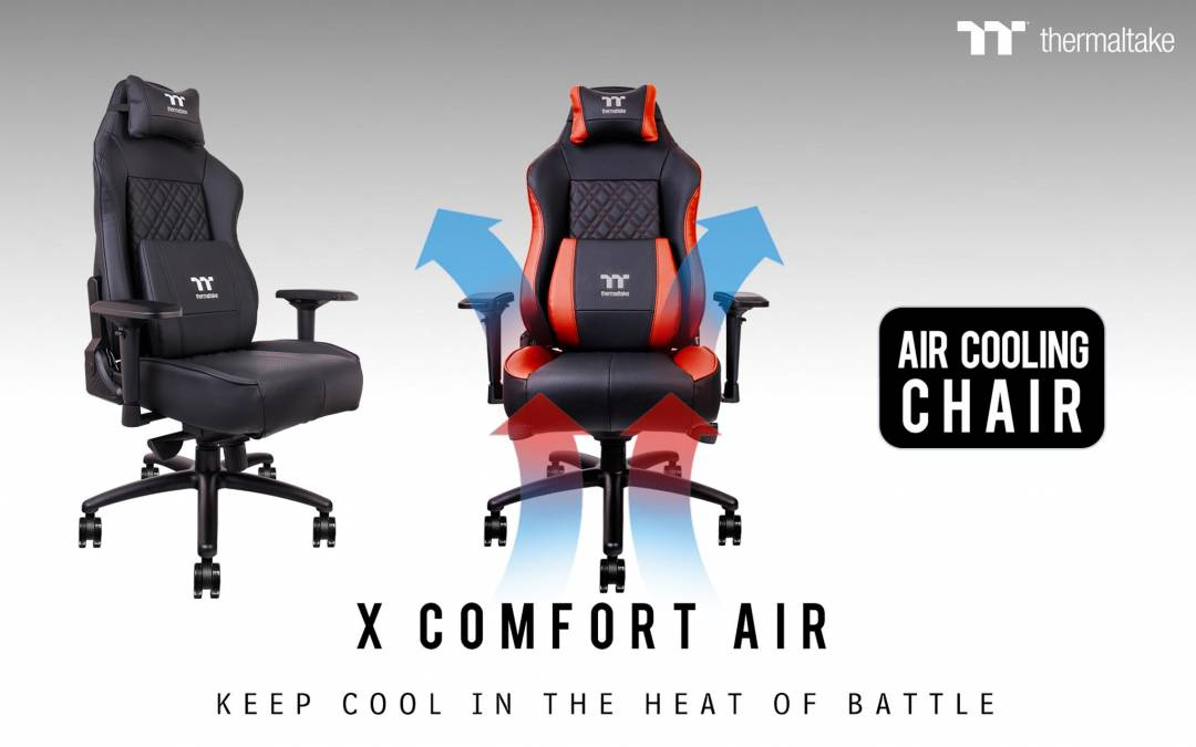 Tt eSPORTS Launches World's First X COMFORT AIR Cooling Professional Gaming Chair