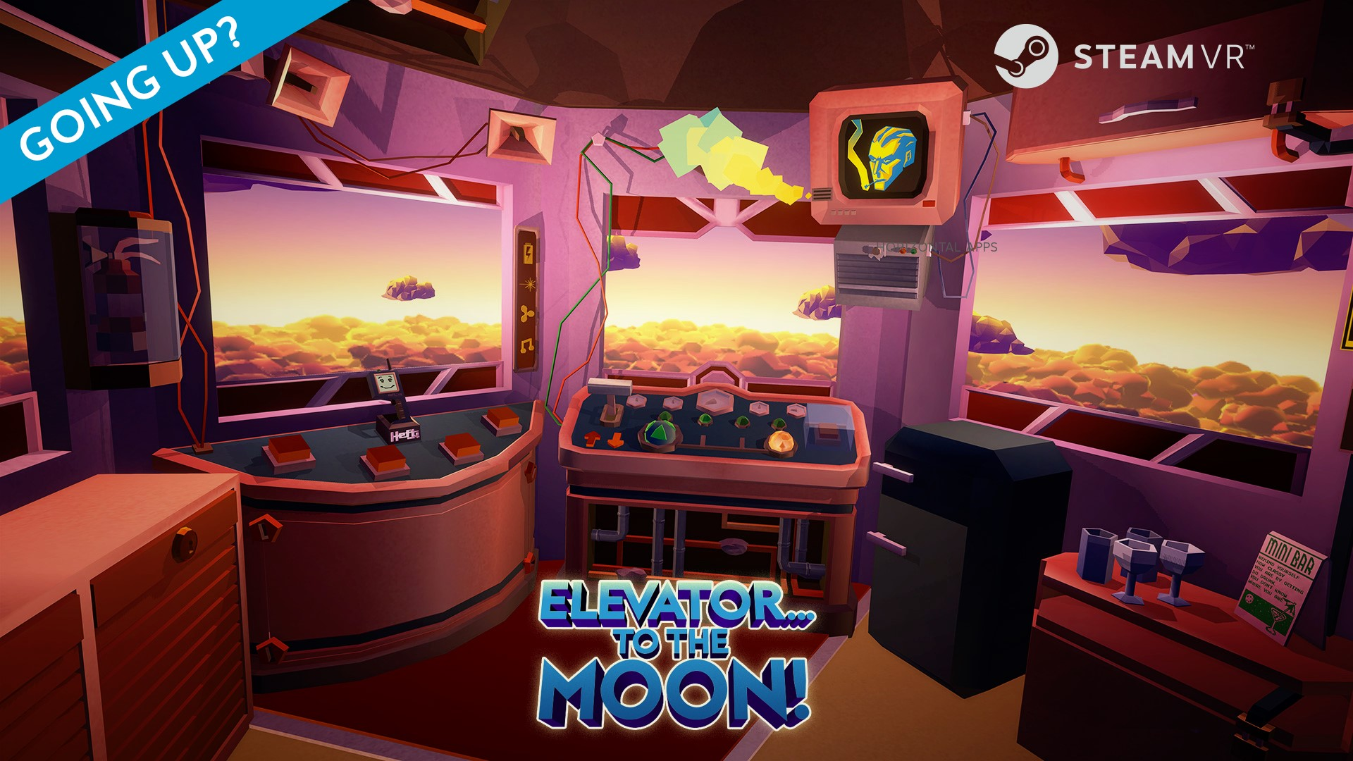 Finally available on Steam: Elevator… to the Moon!