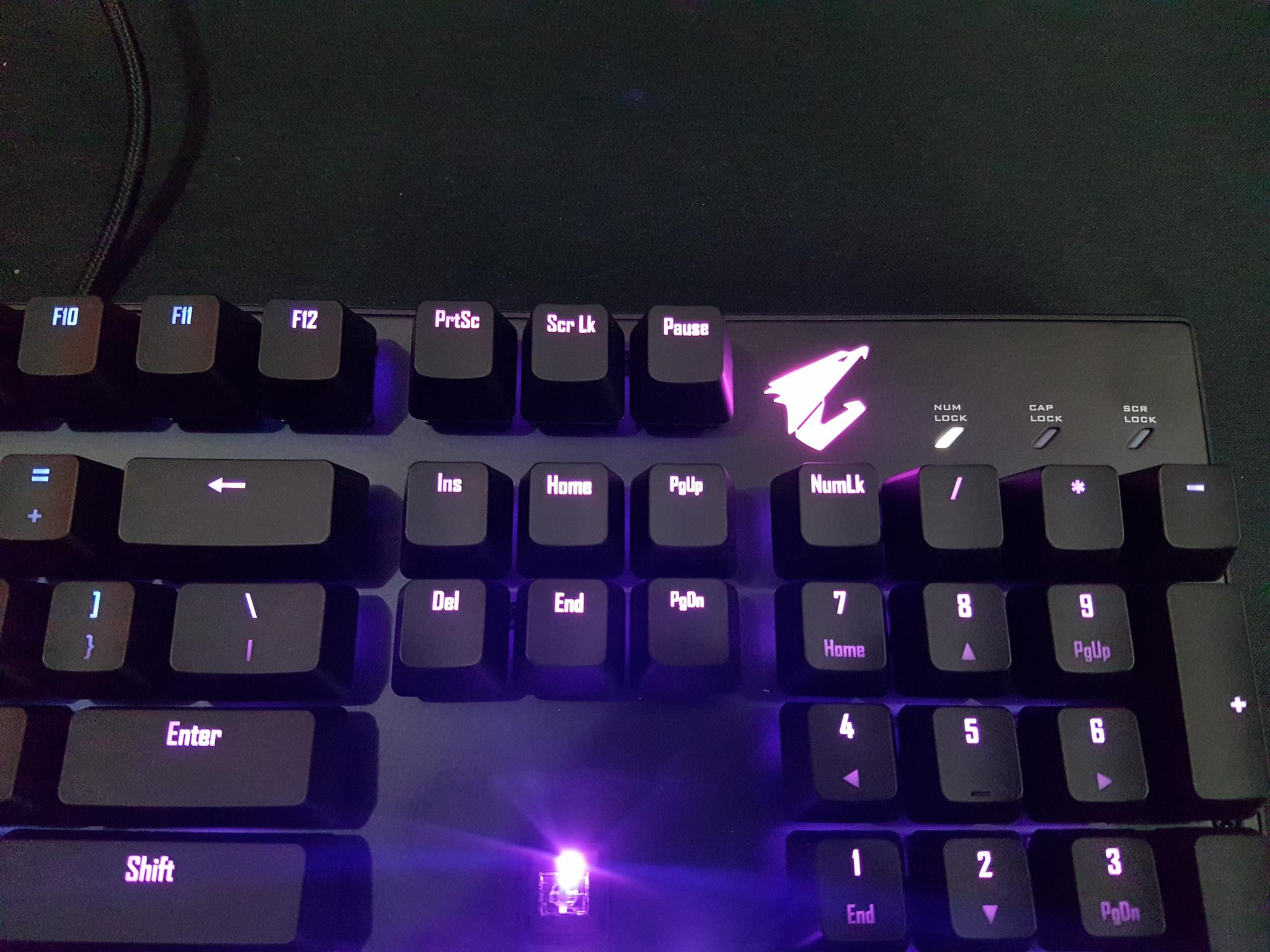 Aorus K9 Optical Flaretech Mechanical Keyboard