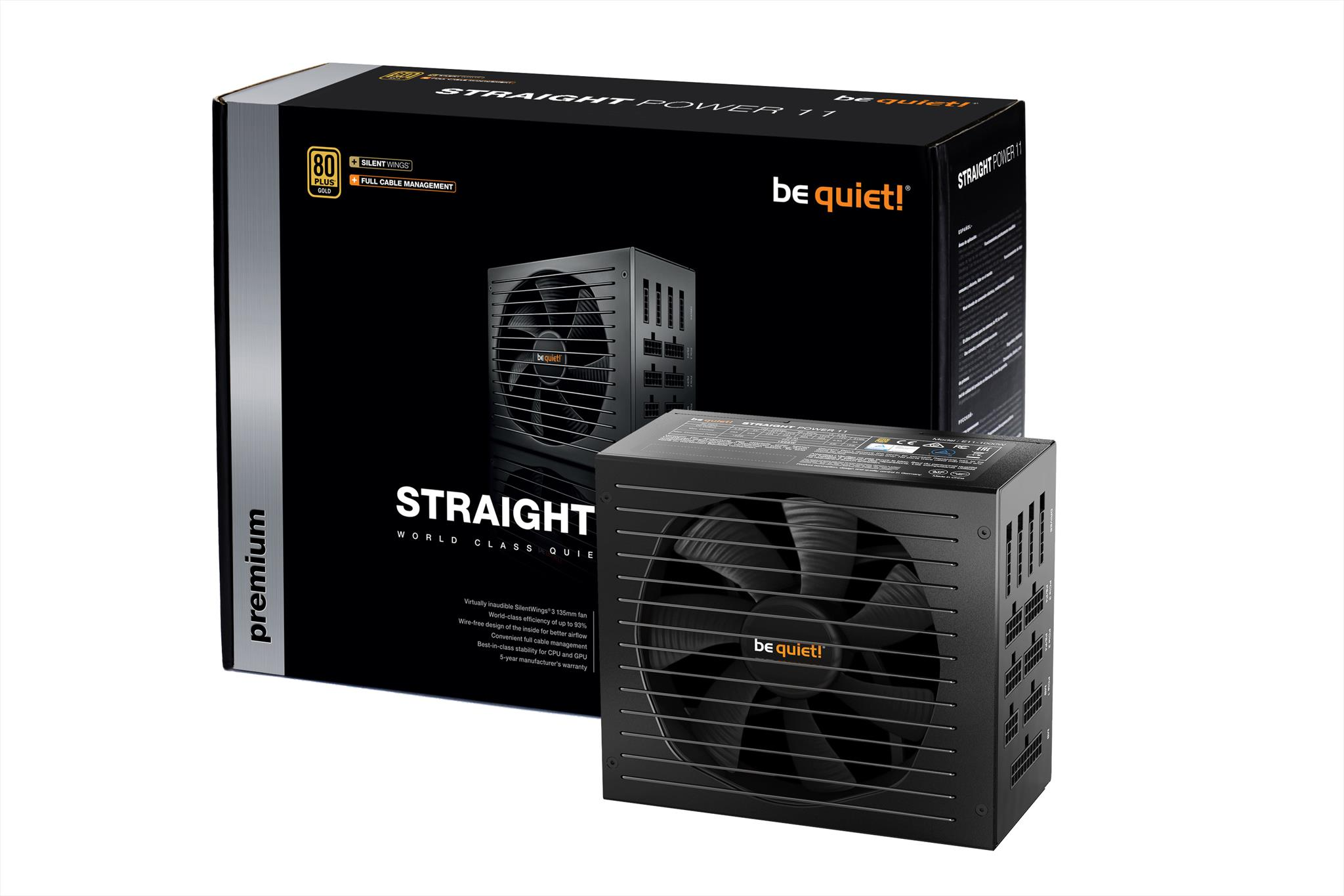 Straight Power 11: Wire-free for highest quality and lifespan