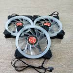 Raijintek IRIS 12 256-3 Rainbow RGB LED Fans Review
