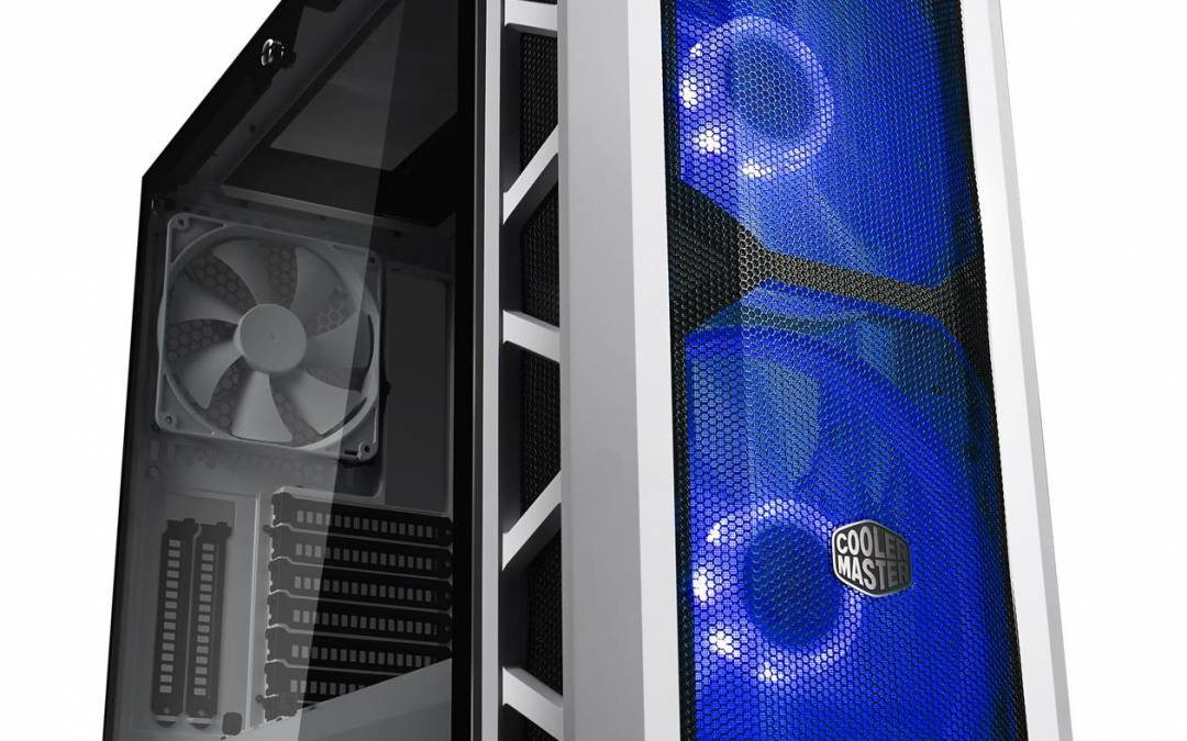 Cooler Master is introducing the new H500P Mesh White
