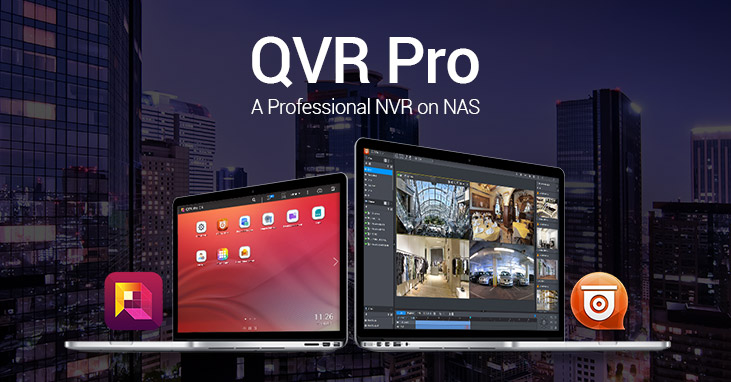 QNAP Releases QVR Pro, a Professional NVR on NAS
