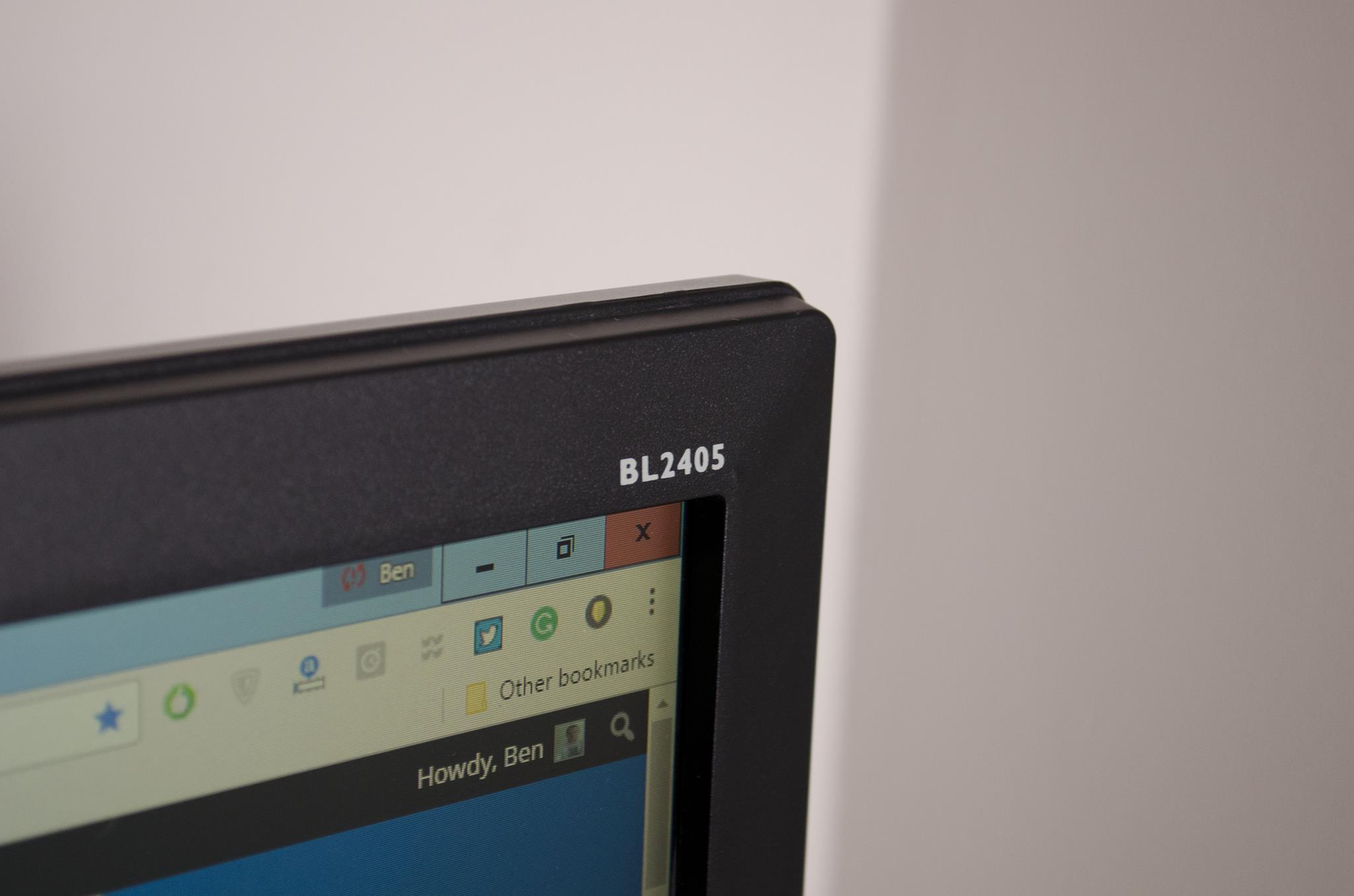 BenQ BL2405HT Monitor Review