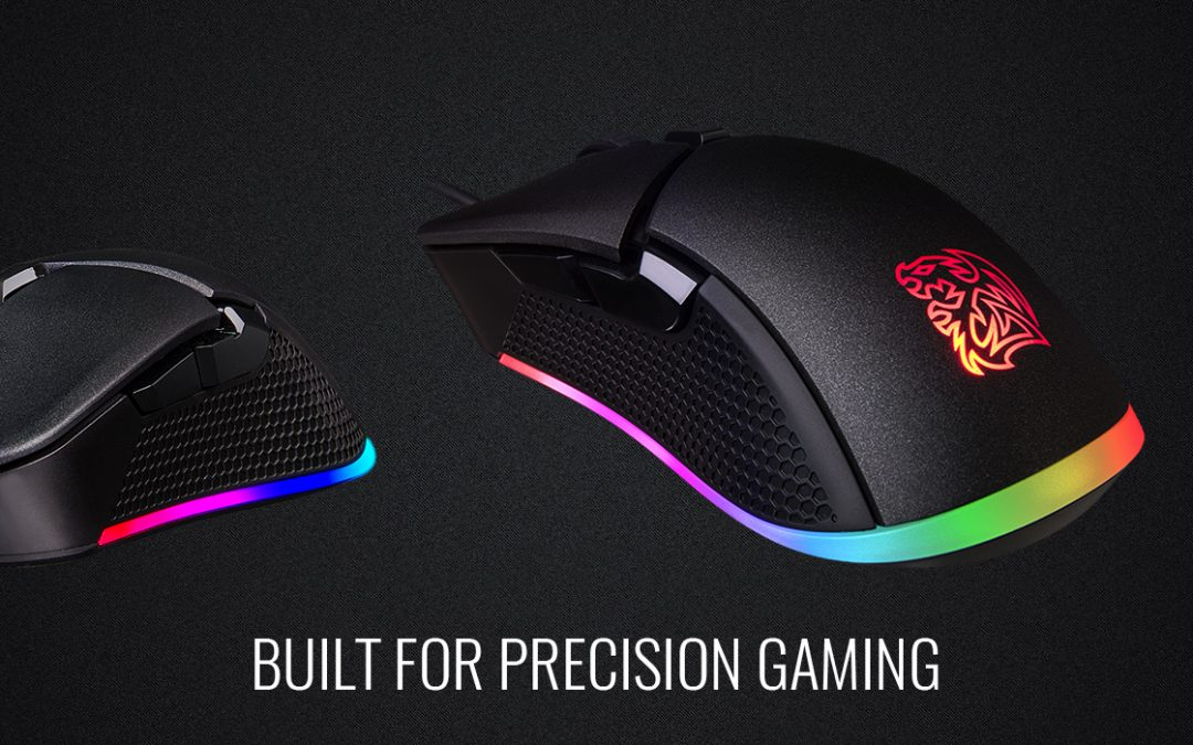 Tt eSPORTS Iris Optical RGB Gaming Mouse  Now Available Worldwide