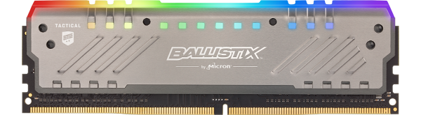 Ballistix Tactical Tracer RGB DDR4 Gaming Memory Now Available
