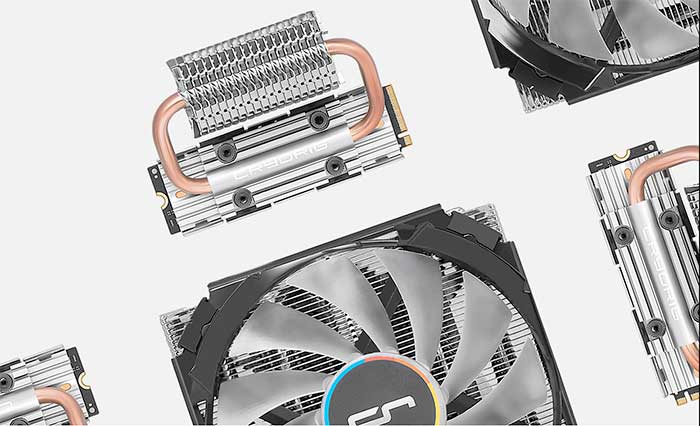CRYORIG Announces Frostbit M.2 Cooler and C7 RGB for Computex 2018