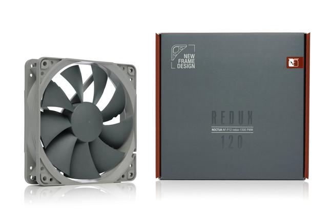 Noctua presents next-generation NF-A12x25 120mm fan, 140mm adaptor and redux line NF-P12