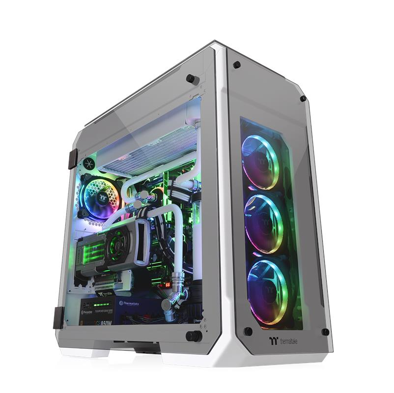 Thermaltake Releases New View 71 Tempered Glass Snow Edition Full