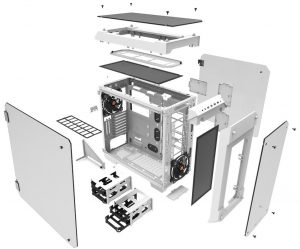 Thermaltake View 71 Tempered Glass Snow Edition Full-Tower Chassis_4