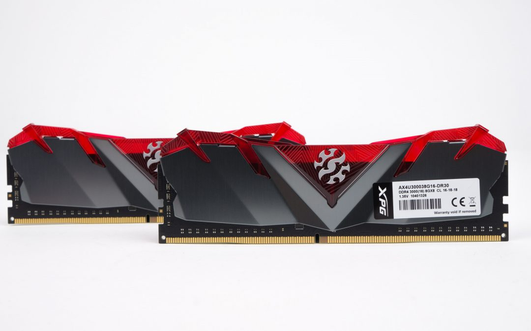 Adata XPG Gammix D30 CL16 3000MHz 2x8GB Memory Kit Review