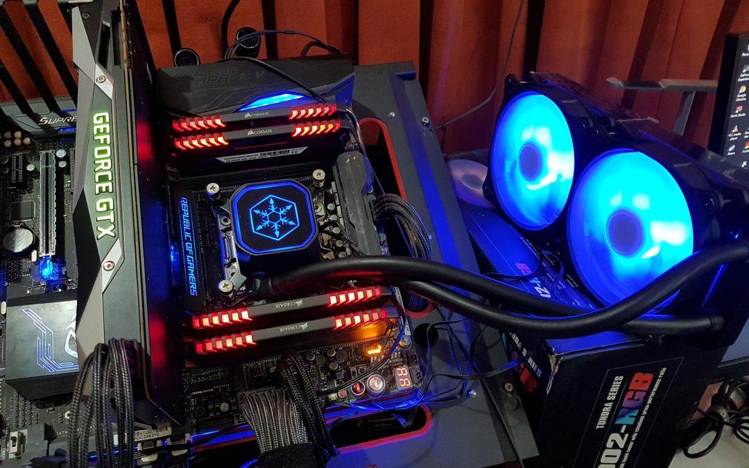 SilverStone Tundra Series TD02 RGB CPU Liquid Cooler Review