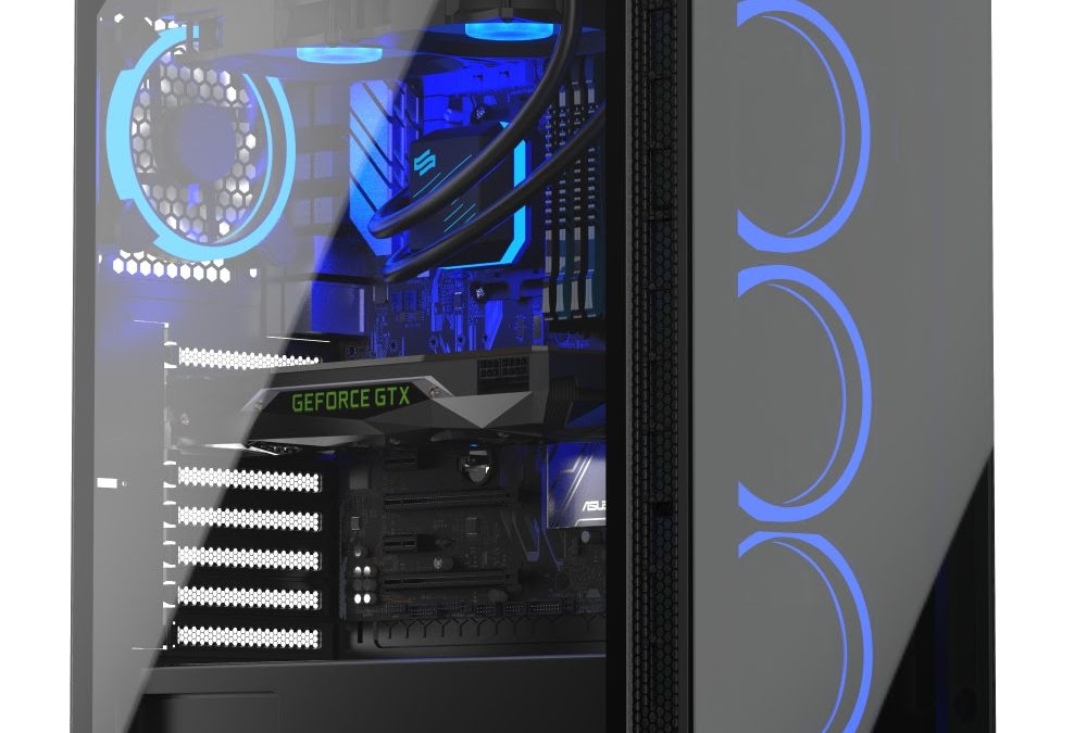 SilentiumPC Armis AR5X: Front glass for looks. 4 Fans for right cooling
