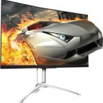 AOC's AGON AG272FCX6 connects players to the game with 165 Hz refresh rate and 1800R curvature