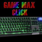 Game Max Click RGB Keyboard Review and Giveaway
