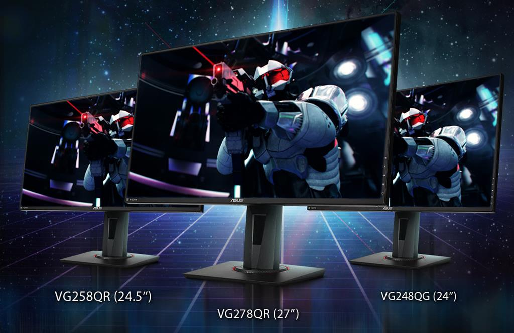 ASUS Announces Three New NVIDIAG-SYNC Compatible Gaming Monitors