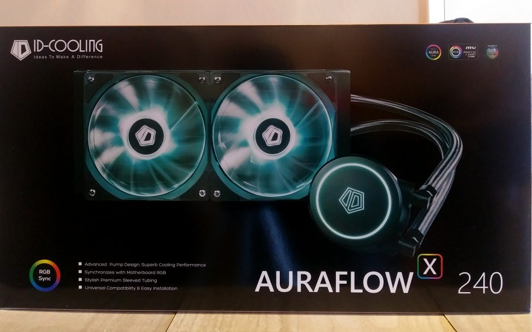 ID-COOLING AURAFLOW X 240 RGB All In One Liquid CPU Cooler Review