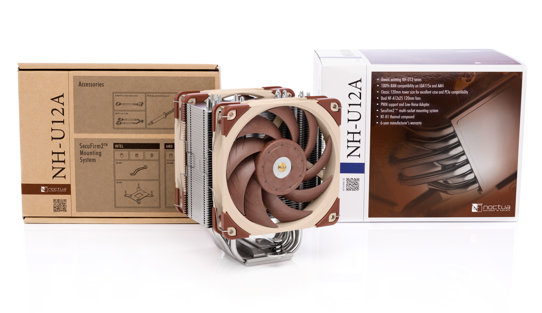 Noctua NH-U12A CPU Air Cooler Review