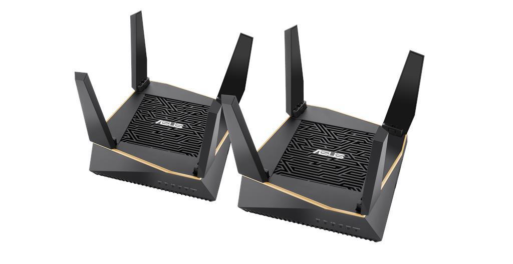 ASUS Announces AiMesh AX6100 Wi-Fi System (RT-AX92U 2-Pack)