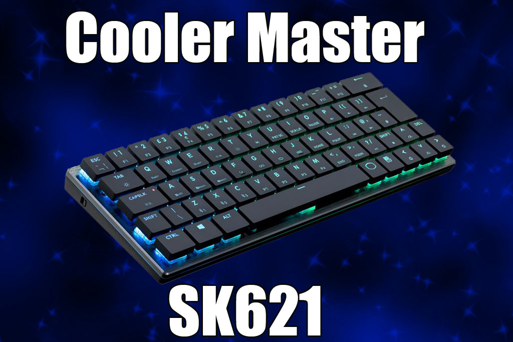 Cooler Master Releases its First Bluetooth Wireless 60% Layout Mechanical Keyboard