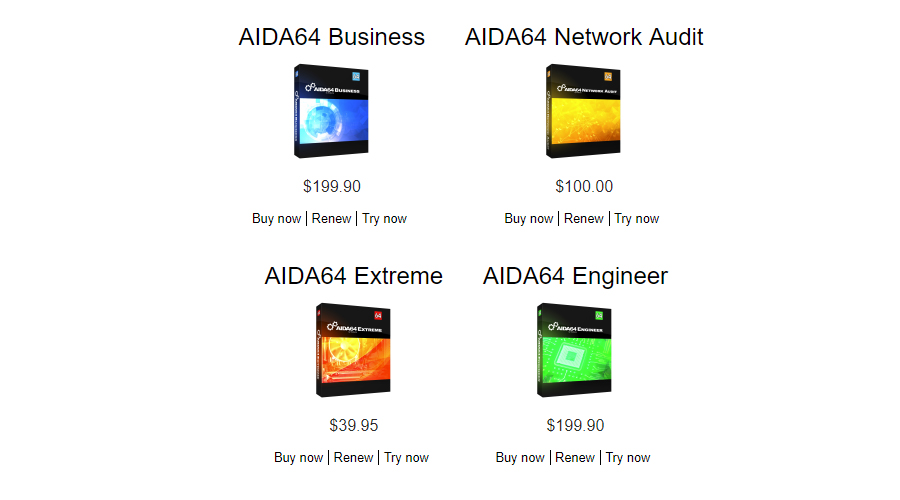 AIDA64 Updates To V6.00