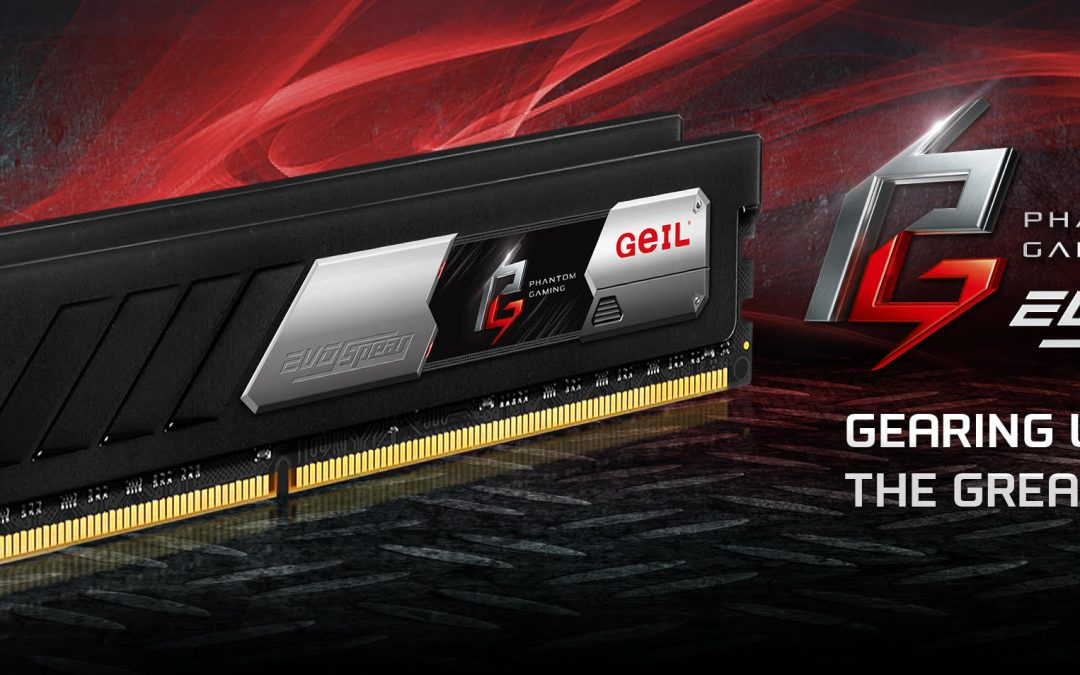 GeIL Announces EVO SPEAR Phantom Gaming Edition Memory for SFF Systems