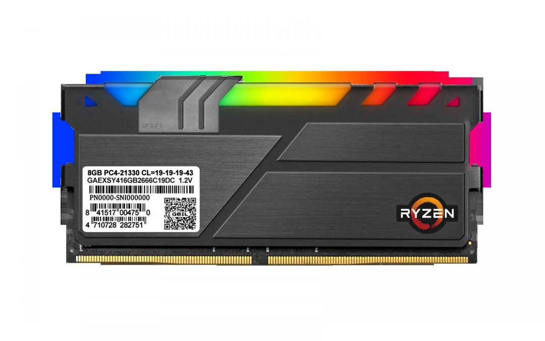 GeIL launches the EVO X II and EVO X II ROG-certified DDR4 RGB Gaming Memory