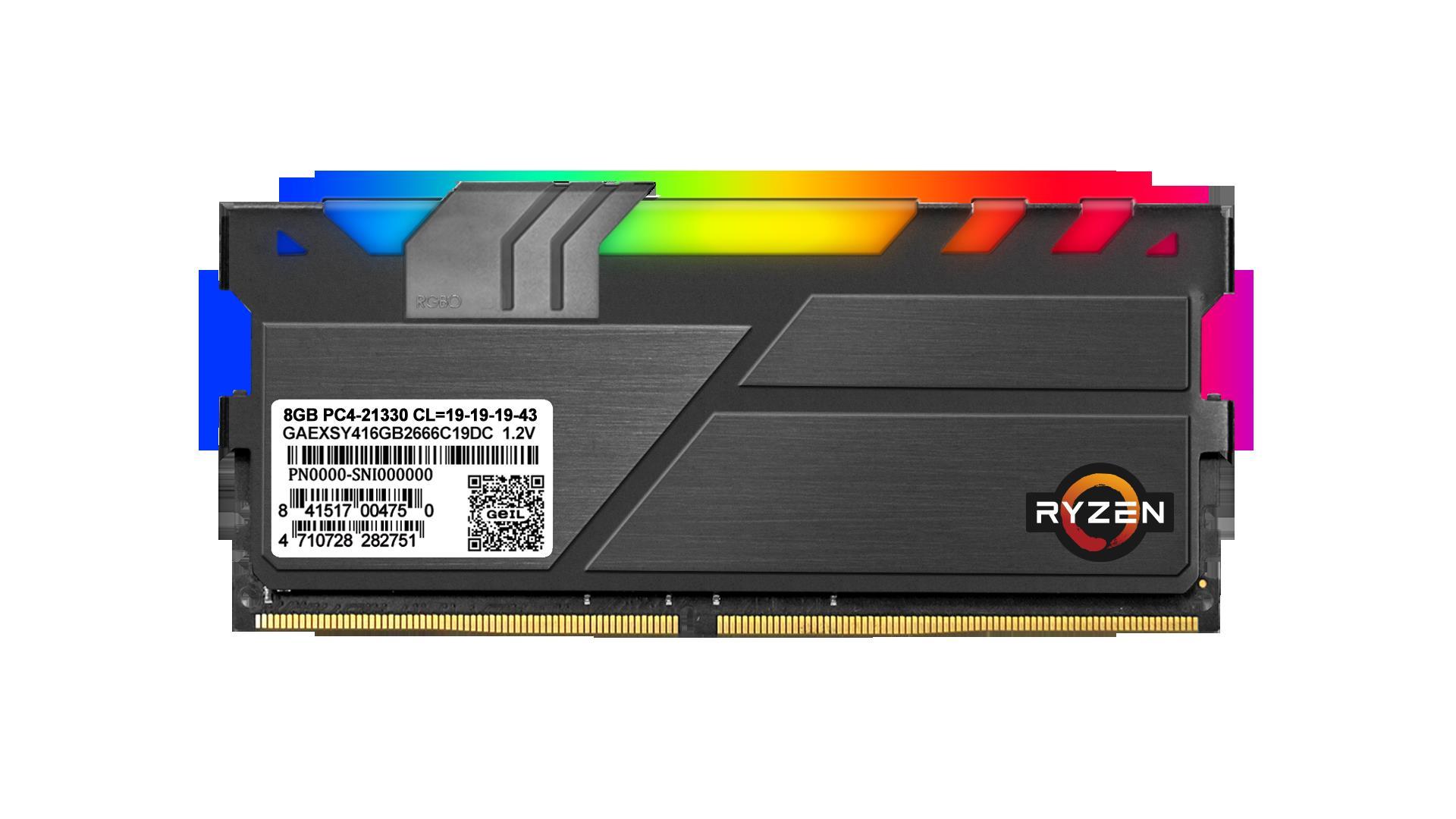 GeIL launches the EVO X II and EVO X II ROG-certified DDR4 RGB Gaming Memory