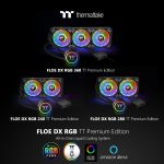 Thermaltake Announces Floe DX RGB Series TT Premium Edition