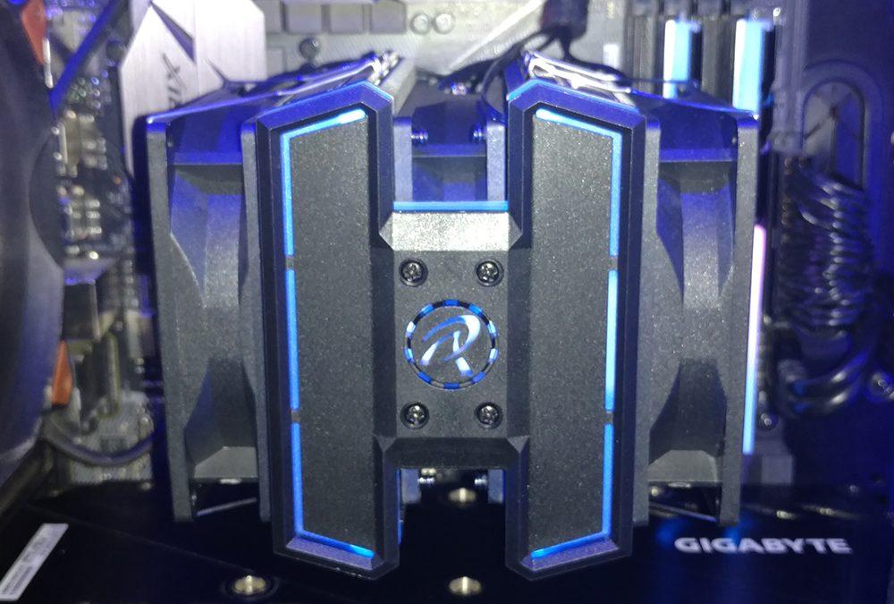 Rajintek DELOS RBW Tripple Fan CPU Cooler Review