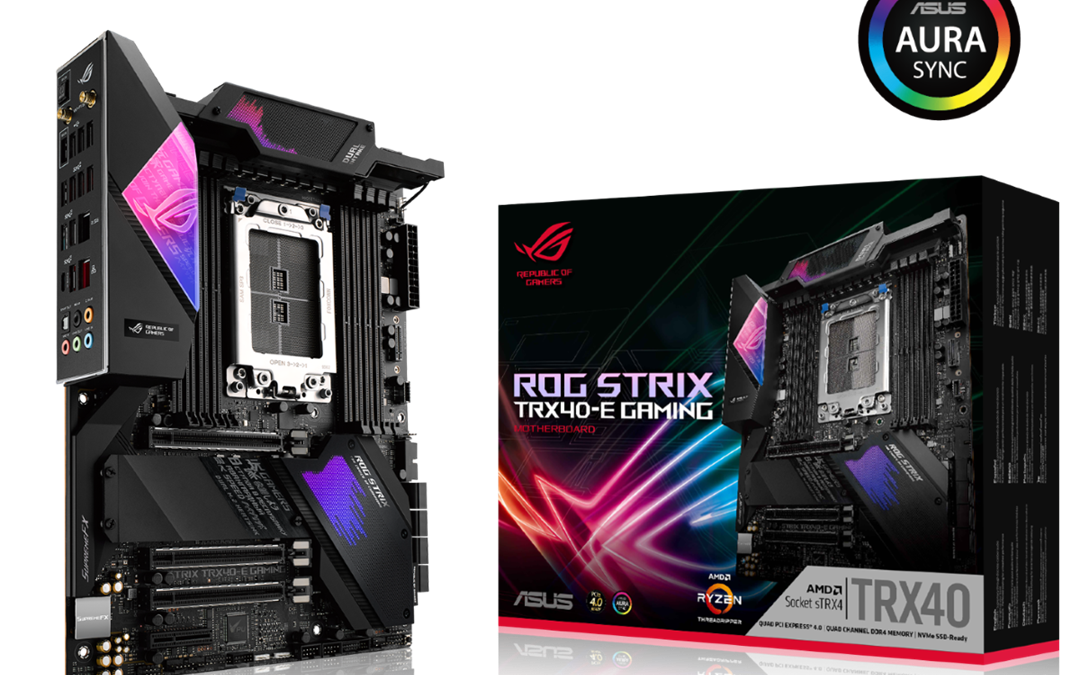 ASUS Announces TRX40 Motherboards