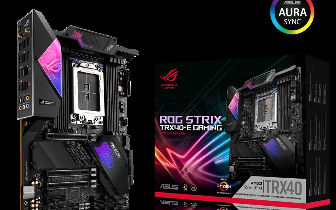 ASUS Announces TRX40 Motherboards