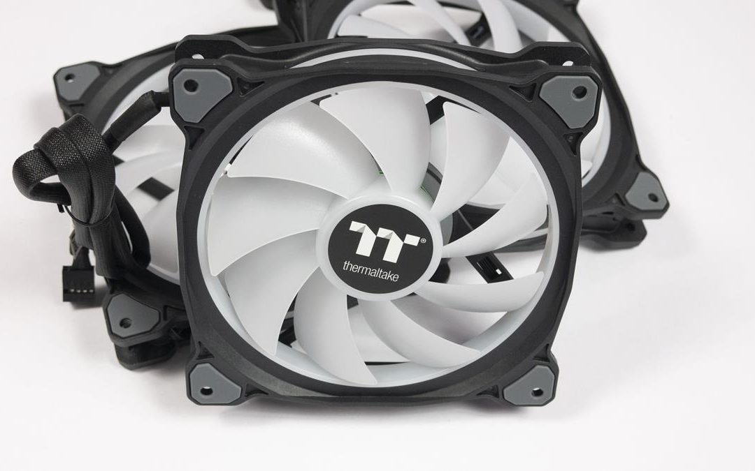 TT Premium Riing DUO 14 Radiator Fan Review