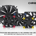 Noctua presents new chromax line fans and accessories