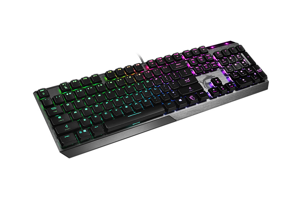 MSI REVEALS VIGOR GK50 LOW PROFILE MECHANICAL GAMING KEYBOARD