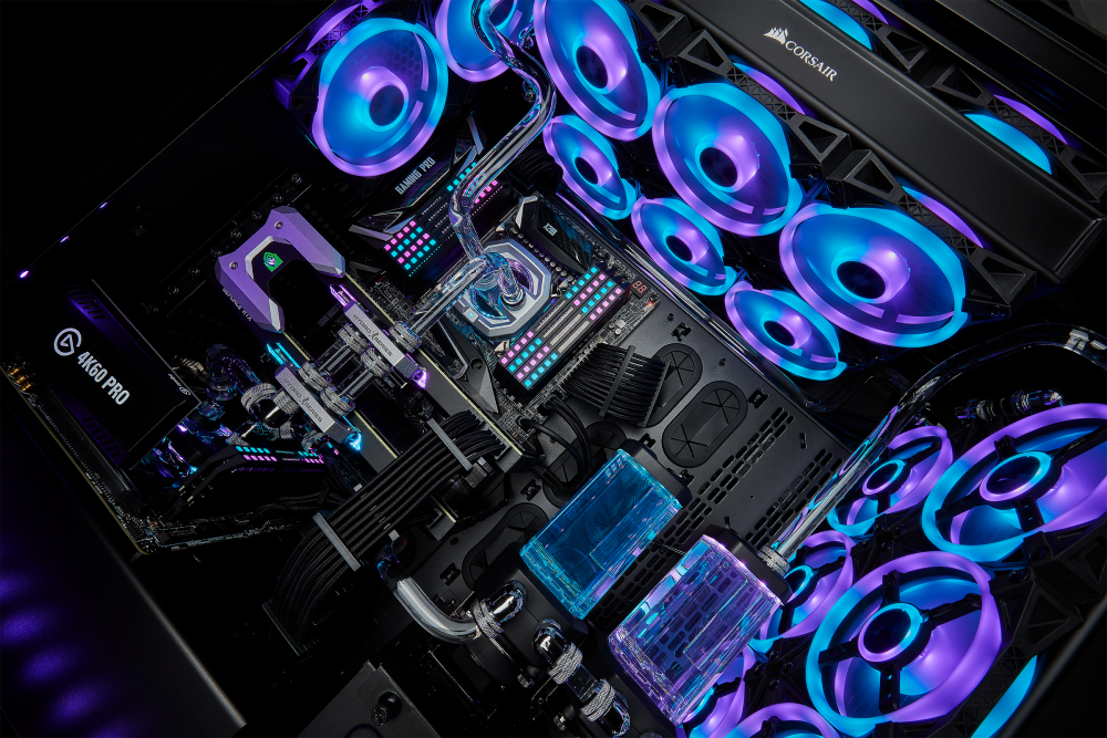 CORSAIR Launches iCUE QL RGB Fans for Spectacular Lighting from Any Angle