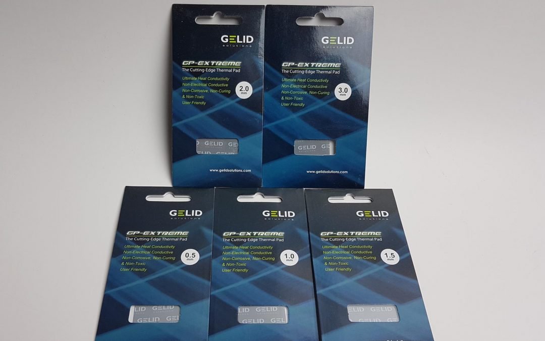 GELID Solutions GP-Extreme and GP-Ultimate Thermal Pads Review