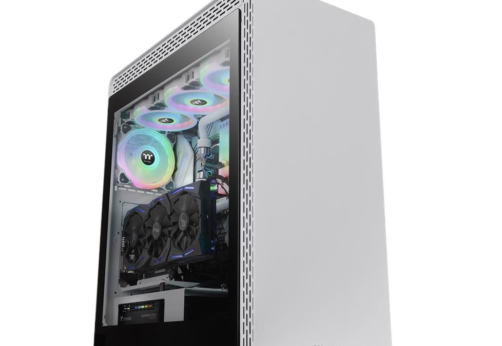 Thermaltake S500 Tempered Glass Snow Edition Mid-Tower Chassis Pre-Orders Now Available