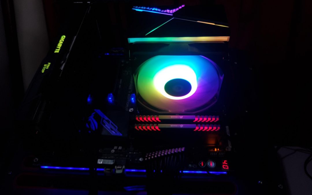 ID-COOLING SE-234-ARGB CPU Air Cooler Review