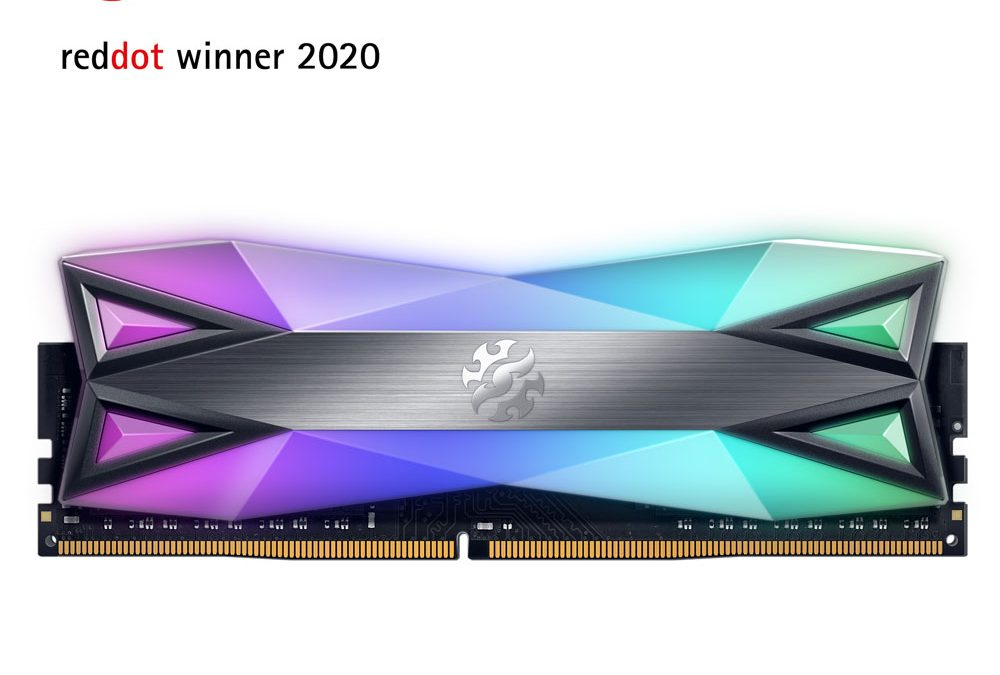 XPG SPECTRIX D60G Memory Module Wins Prestigious Red Dot Design Award
