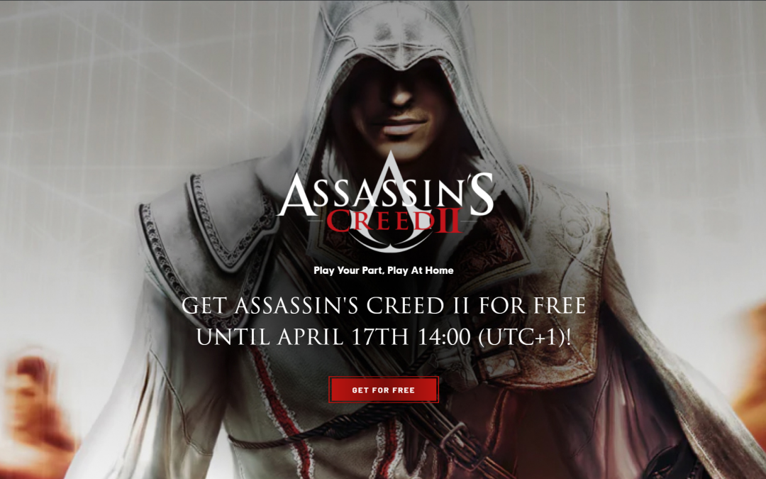 Assassin's Creed II – Free From Ubisoft on Uplay