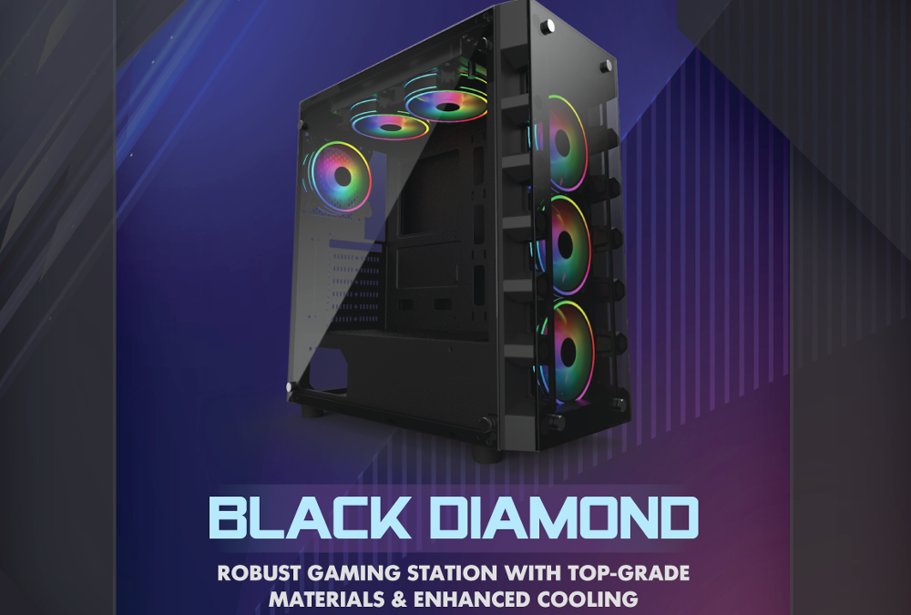 Gelid Releases New Black Diamond Case