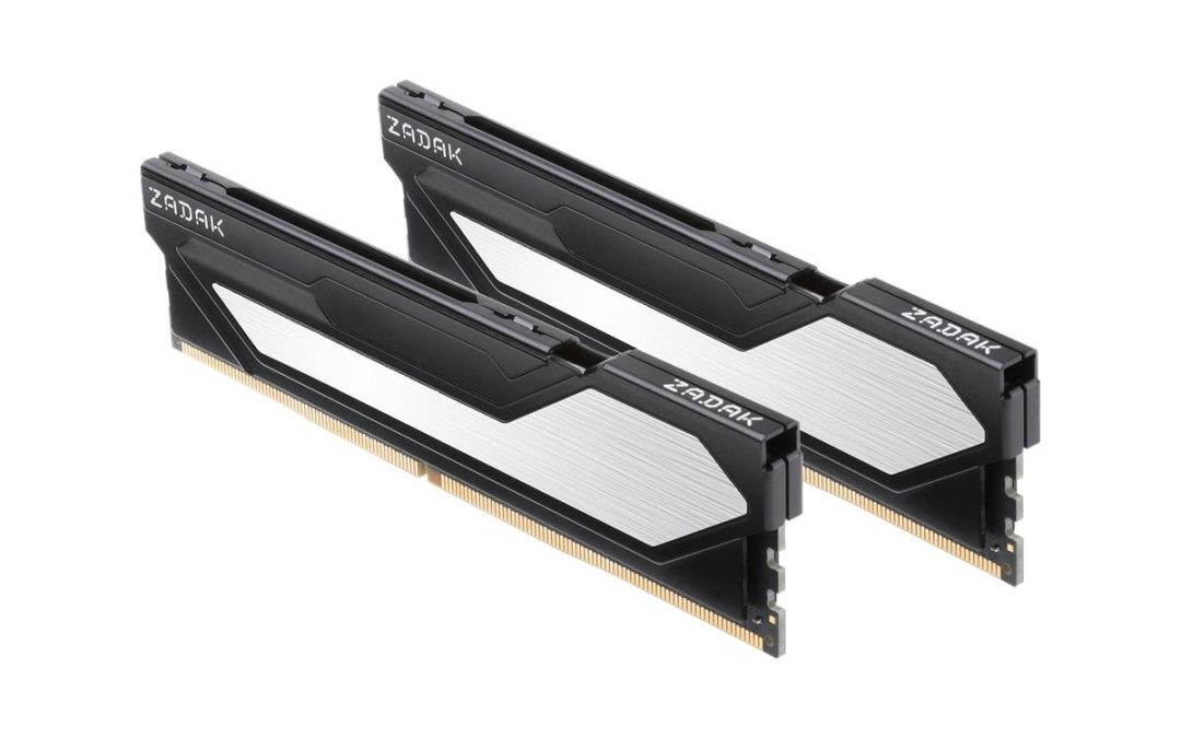 ZADAK ANNOUNCES NEW LOW-PROFILE TWIST SERIES DDR4 MEMORY MODULES
