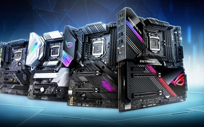 ASUS Announces Z490 Series Motherboards