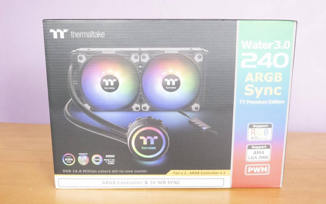 Thermaltake Water 3.0 240 ARGB SYNC AIO Cooler Review