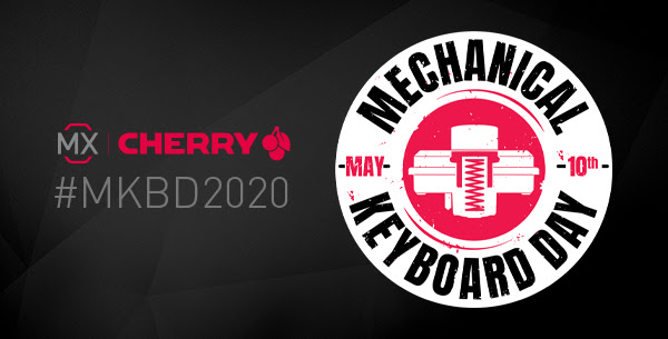 CHERRY MX CELEBRATES SECOND MECHANICAL KEYBOARD DAY