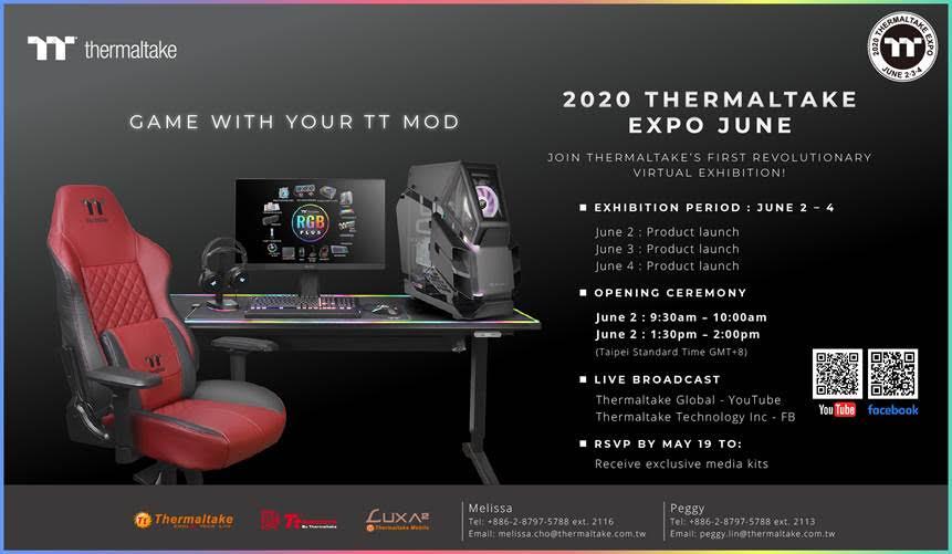 2020 Thermaltake Expo June